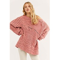 Against The Tide Sweater Sweet Combo