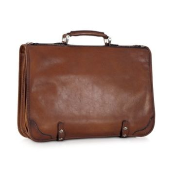 Pratesi Designer Briefcases Genuine Leather Document Case