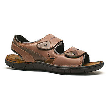 Josef Seibel Men's Paul 04 Sandals - Brandy