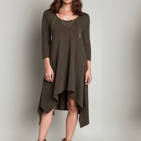 Olive Autumn Spice Dress