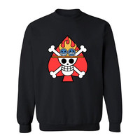 Ace's Flag Symbol One Piece Sweater - zz Unisex Sweaters