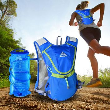 AONIJIE Outdoor Water Bottle Water Bag 2L Hydratation Camelback Tactical Wasser Flasche Hydration Backpack Soft Flask Water Bag