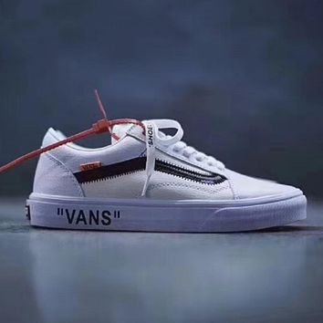 OFF-WHITE x Vans Old Skool Fashionable casual shoes