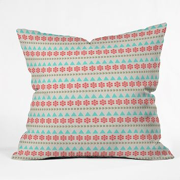 Allyson Johnson Holiday Style Throw Pillow