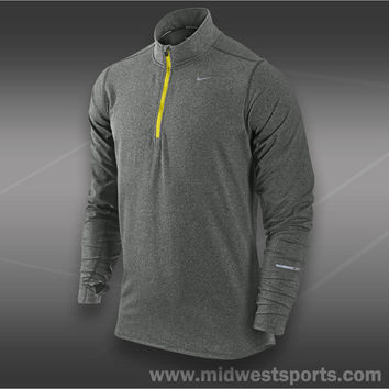 Nike Mens Tennis Shirt, Nike Element Half-Zip 504606-013
