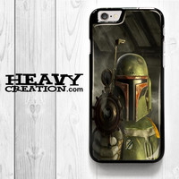 Boba Fett Star Wars Weapon for iPhone 4 4S 5 5S 5C 6 6 Plus , iPod Touch 4 5  , Samsung Galaxy S3 S4 S5 S6 S6 Edge Note 3 Note 4 , and HTC One X M7 M8 Case