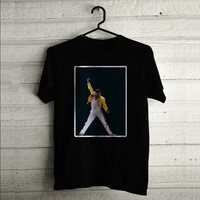 Freddie Mercury Sing Custom T-shirt | Men T-shirt | Woman T-shirt | Tank Top | Shirts