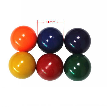 31 mm Resin Mini Football table babyfoot ball 4 pcs soccer balls FOOSBALL table soccer ball for board games (16g/pcs)