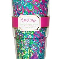 Lilly Pulitzer Insulated Travel Tumbler - Blue