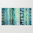 Dreamy Tribal Part VIII Area & Throw Rug by Pom Graphic Design | Society6