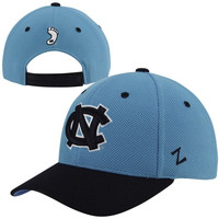 Zephyr North Carolina Tar Heels :UNC: Pursuit 2-Tone Adjustable Hat - Carolina Blue/Navy Blue