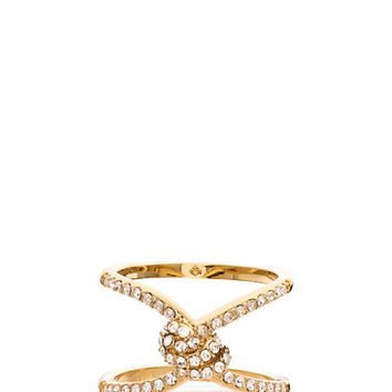 infinity & beyond pave knot ring