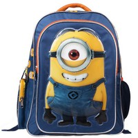 Despicable Me 2 Minions 3D Cartton Toddler Girls' Boys' Backpack School Bag -B