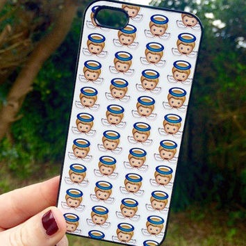 Iphone 6 6 Plus Phone Case Emoji Angel Print Hipster Phone Cover
