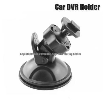 Black 360 Degree Rotating Car Holder For Sport DV Camera Mount DVR Holders Driving Recorder Suction Cup Drop Shipping