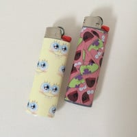 SpongeBob SquarePants or Patrick Starfish Lighter
