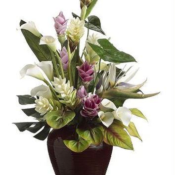 Artificial Flower Arrangement - Potted