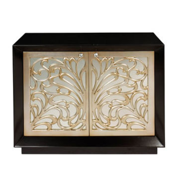 Asher Mirrored Cabinet