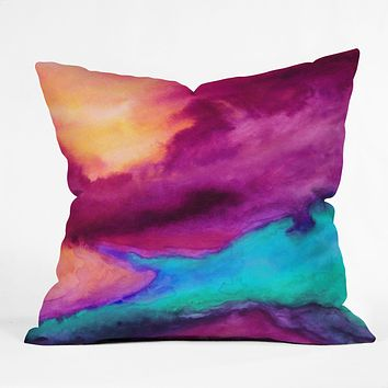 Jacqueline Maldonado The Tide Throw Pillow