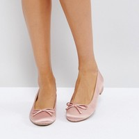 Call It Spring Desarro Satin Ballerina Shoes at asos.com