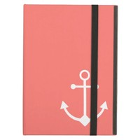 Pink anchor case for iPad air
