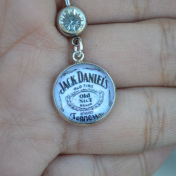 Jack Daniels Belly Ring