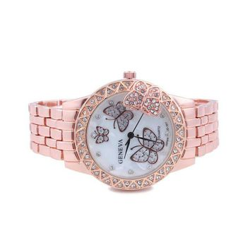 STYLEDOME Women Watches Stainless Crystal Wrist Watches