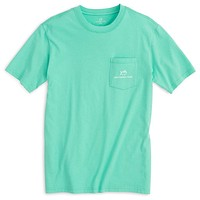 Wild with the Tide Bear Tee in Bermuda Teal by Southern Tide - FINAL SALE