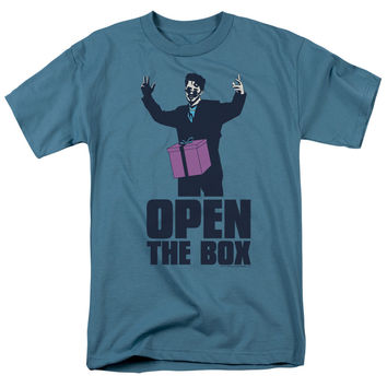 Saturday Night Live Open the Box Slate T-Shirt