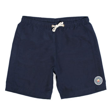 Navy Sun Up Swim Trunk