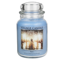 Large Double Wick Premium 1219 gram 26oz Jar by VILLAGE CANDLE - All Scents