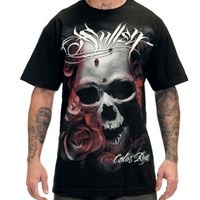 Sullen Distortion Tee X-Large Black
