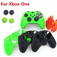 Flexible Antislip Silicone Soft guards Skin Protective Case Cover Protector for Xbox One Controller Xbox one Elite+silicone Case