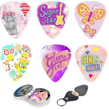 Unique Girls & Ladies Guitar Picks , The Best Gift For Your Precious Star!