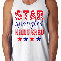 'Star Spangled Hammered' Tank Top
