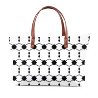 Black And White Diamond Ladies Bag