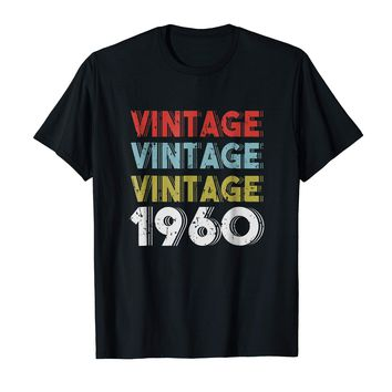 Retro Vintage Born In 1960 - 58th Birthday Gift