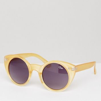 Quay Australia Aimshi Cat Eye Sunglasses at asos.com