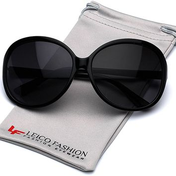 Round Women's Retro Fashion Sunglasses