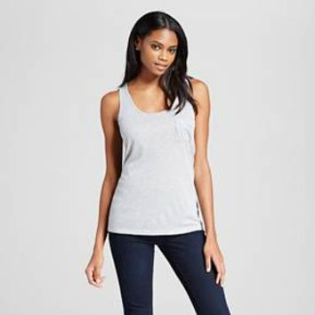 Women's Drapey Tank with Pocket - Mossimo
