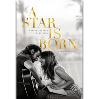 S1706 A Star Is Born Bradley Cooper Lady Gaga 2018 New Movie Wall Art Painting Print On Silk Canvas Poster Home Decoration