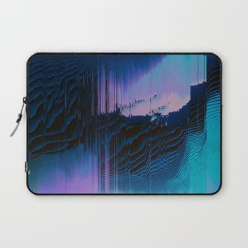 Lavender Oil Laptop Sleeve by Ducky B