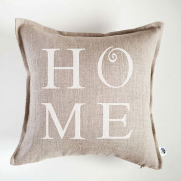 Personalized pillow cover - HOME  monogrammed pillows - home decor pillows - wedding gift - custom word or quote pillow gift
