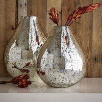 Silver Mercury Vases | west elm