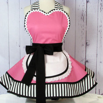 Little Cafe Waitress Apron by Dots Diner - In Stock