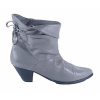 Gray Ankle Bootie