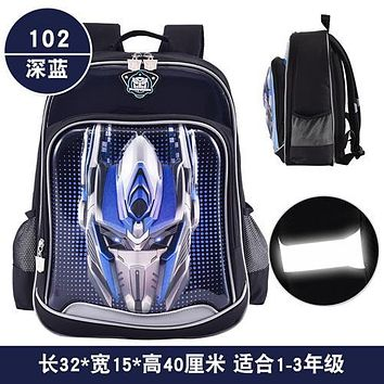 THE TRANSFORMERS children/kids orthopedic books backpack elementary school bag portfolio for boys girls grade/class 2-6