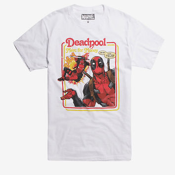 Marvel Deadpool Merc For Money T-Shirt Hot Topic Exclusive