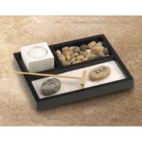 Nifty Tabletop Zen Meditation Garden Kit