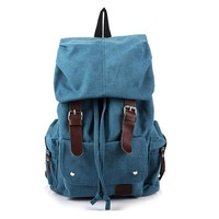 New Vintage Backpack Canvas Backpack Leisure Travel School Bag Unisex Laptop Backpacks Men Backpack Mochilas